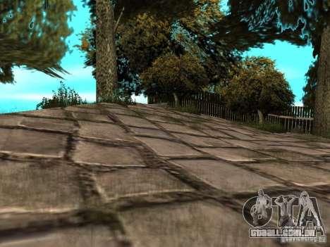 Stone Mountain para GTA San Andreas por diante tela