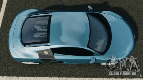 Audi R8 5.2 Stock Final para GTA 4 vista direita