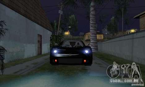 Xenon luzes (faróis de Xenon) para GTA San Andreas terceira tela
