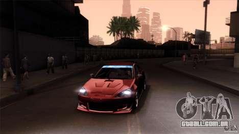 Acura RSX Spoon Sports para o motor de GTA San Andreas