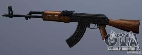 AKM - the more accurate version para GTA San Andreas terceira tela