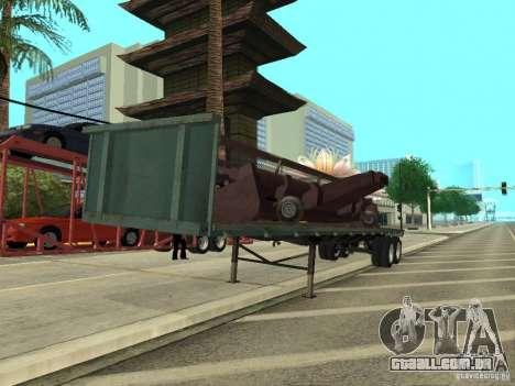 American Trailers Pack para GTA San Andreas esquerda vista