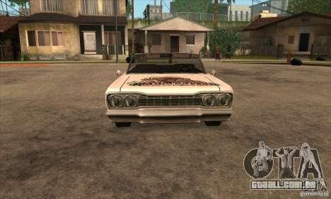 Pintura de savana para GTA San Andreas sexta tela