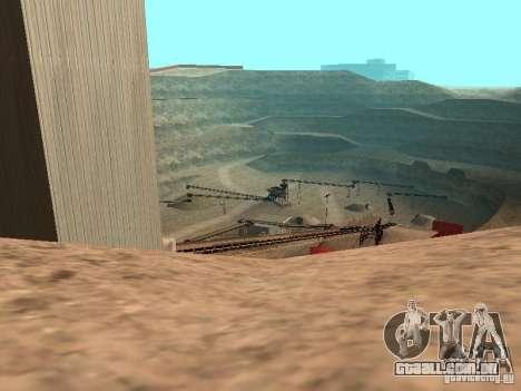 A água de padrão para GTA San Andreas quinto tela