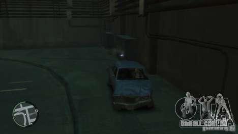 Danos realistas de carro para GTA 4 por diante tela
