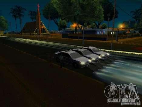 Chevrolet Impala NYPD para as rodas de GTA San Andreas