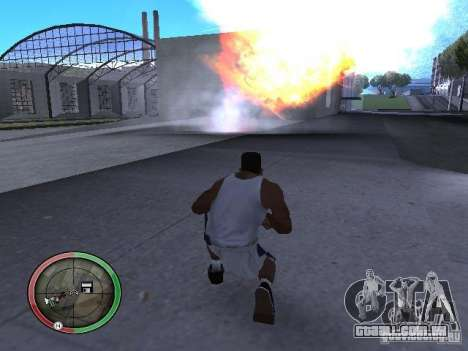Dinamite MOD para GTA San Andreas sexta tela