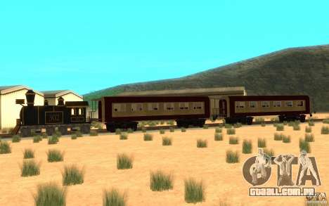 Locomotive para GTA San Andreas esquerda vista
