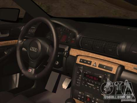 Audi S4 DatShark 2000 para GTA San Andreas vista inferior