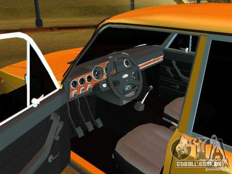 VAZ 21065 para GTA San Andreas vista traseira