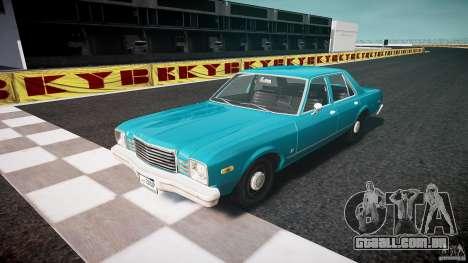 Dodge Aspen v1.1 1979 yellow rear turn signals para GTA 4