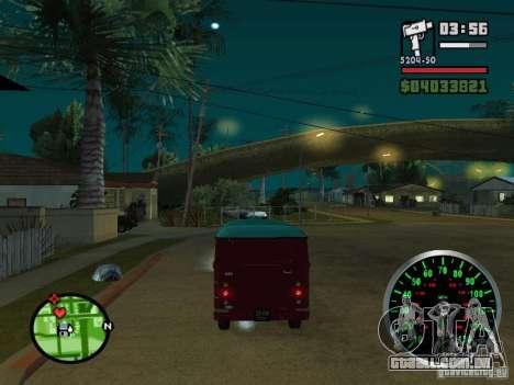 762 YERAZ em para GTA San Andreas vista direita