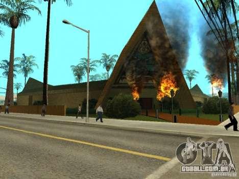 Novas texturas para casino peregrino para GTA San Andreas