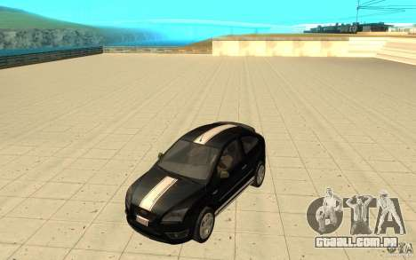 Ford Focus-Grip para GTA San Andreas vista superior