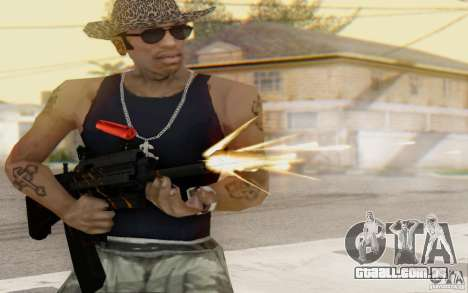 Saiga 12 c de Warface para GTA San Andreas