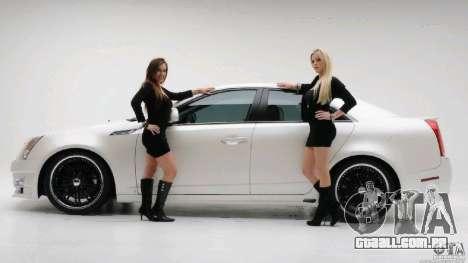 Telas de carregamento e carro meninas para GTA San Andreas terceira tela