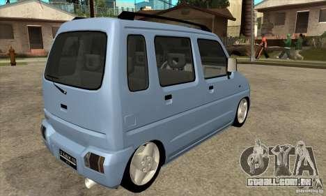 Suzuki Karimun GX para GTA San Andreas vista direita