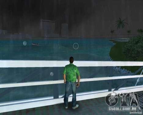 Água nova, jornais, folhas, lua para GTA Vice City terceira tela