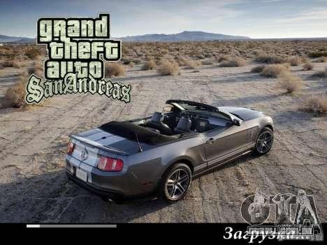 Novas telas de carregamento 2011 para GTA San Andreas quinto tela