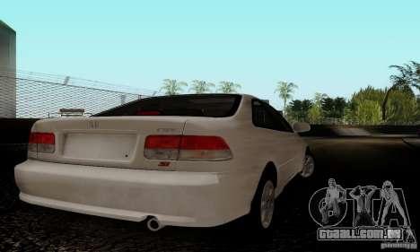 Honda Civic 1999 Si Coupe para GTA San Andreas vista direita