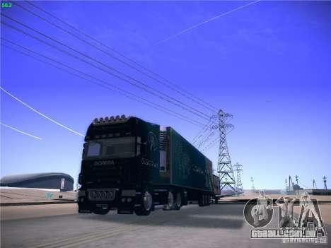 Scania R620 Dubai Trans para GTA San Andreas vista traseira
