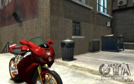 Ducati 999R para GTA 4 vista direita