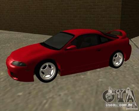 Mitsubishi Eclipse GS-T para GTA San Andreas esquerda vista