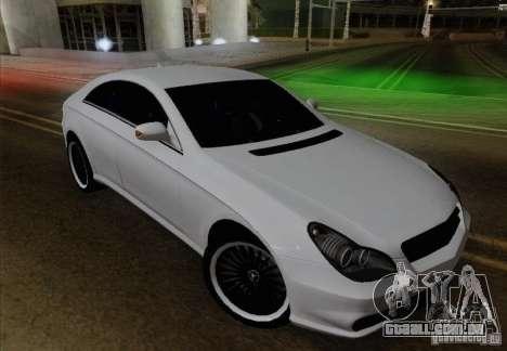 Mercedes-Benz CLS 63 AMG para vista lateral GTA San Andreas