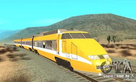 TGV SOUTH WEST para GTA San Andreas