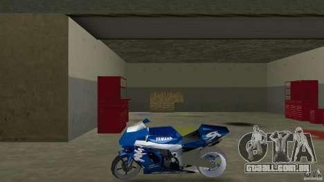 Yamaha Sportbike beta 1.0 para GTA Vice City deixou vista