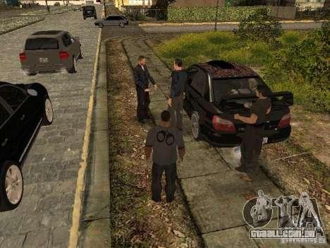 MAFIA Gang para GTA San Andreas terceira tela