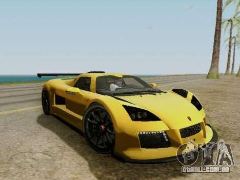 Gumpert Apollo S 2012 para GTA San Andreas