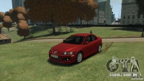 Mazda 6 MPS para GTA 4