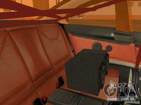 BMW M3 E92 DriftRoots para vista lateral GTA San Andreas