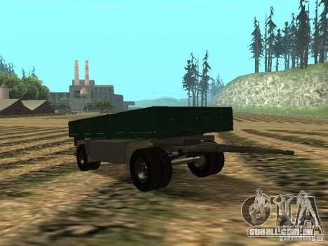 GKB 8350 para GTA San Andreas vista traseira