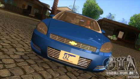 Chevrolet Impala para GTA San Andreas vista interior