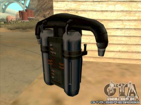 Jetpack spawner para GTA San Andreas segunda tela