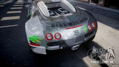 Bugatti Veyron 16.4 v1.0 new skin para GTA 4 vista inferior