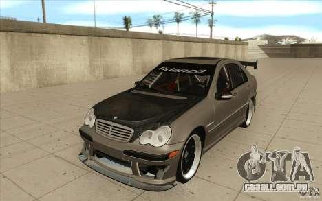 Mercedes-Benz C32 AMG Tuning para GTA San Andreas