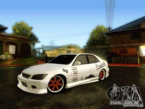 Lexus IS300 Jap style para GTA San Andreas