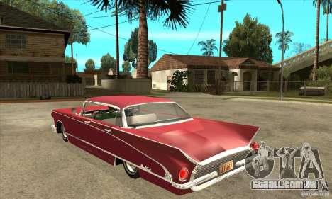 Buick LaNuit para GTA San Andreas traseira esquerda vista