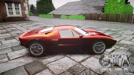 Ford GT para GTA 4 vista interior