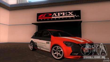 Kia Ceed 2011 para vista lateral GTA San Andreas