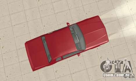 Chevrolet Monte Carlo SS 1986 para GTA San Andreas vista direita