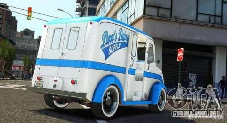 Ford Divco Milk and Icecream Van 1955-56 para GTA 4 esquerda vista