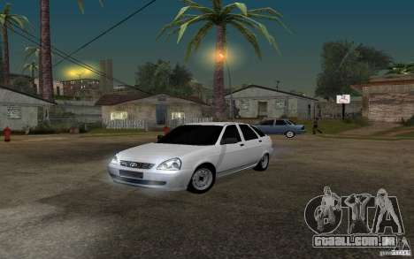 Hatchback tuning luz de LADA priora para GTA San Andreas
