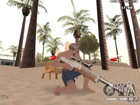 Woody Weapons Pack para GTA San Andreas por diante tela