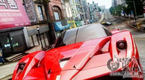 Ferrari FXX Evoluzione para GTA 4 esquerda vista