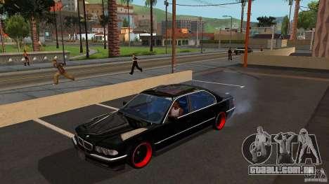 BMW E38 750LI para GTA San Andreas