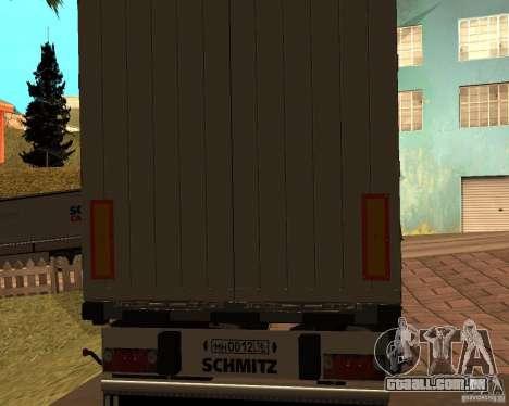 Schmitz para GTA San Andreas esquerda vista